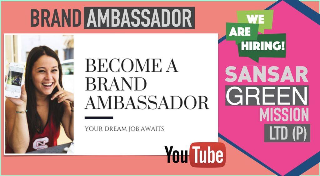 Brand Ambassador - Sansar Green