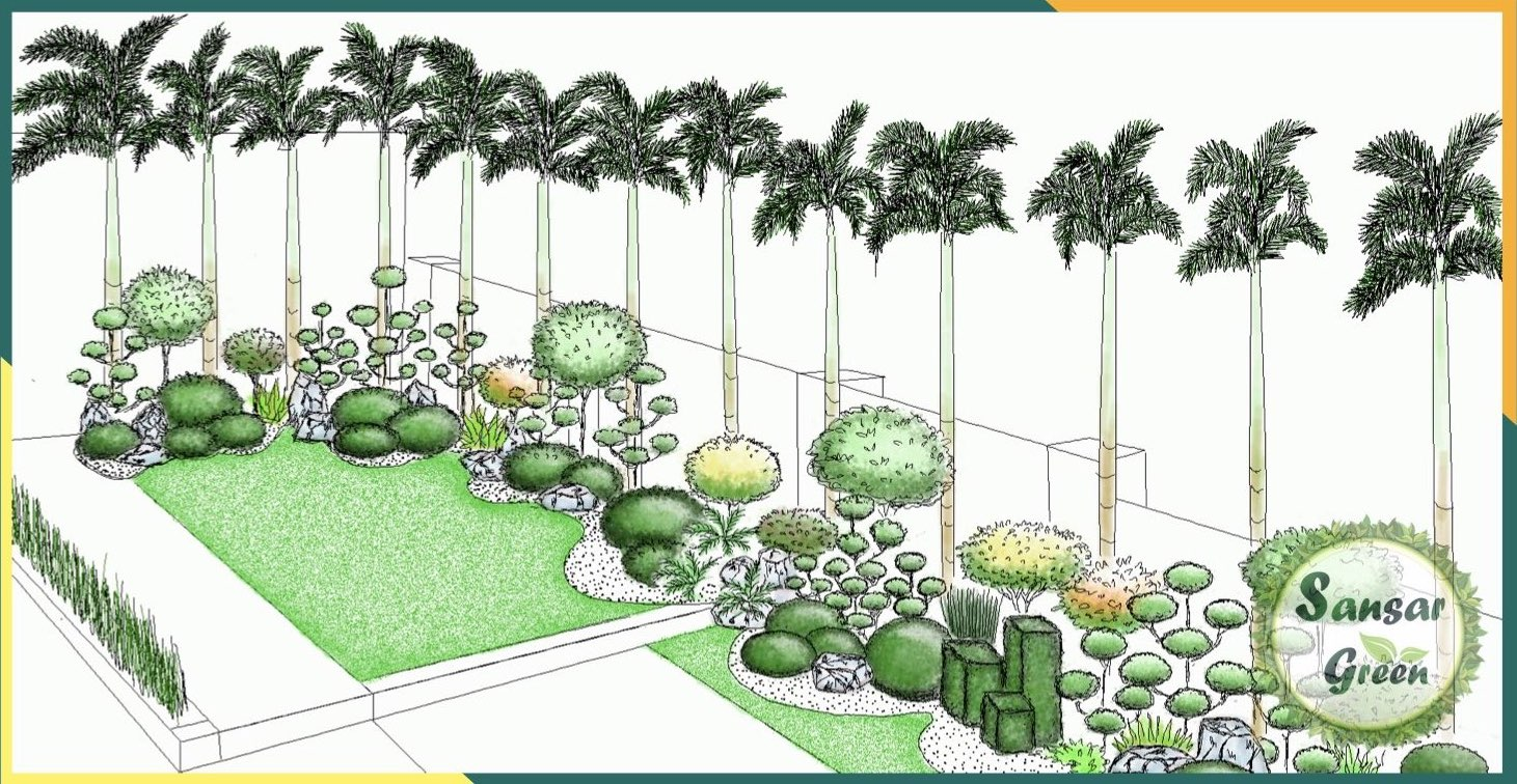 Landscape Consultancy - designing - planning in india - sansar green