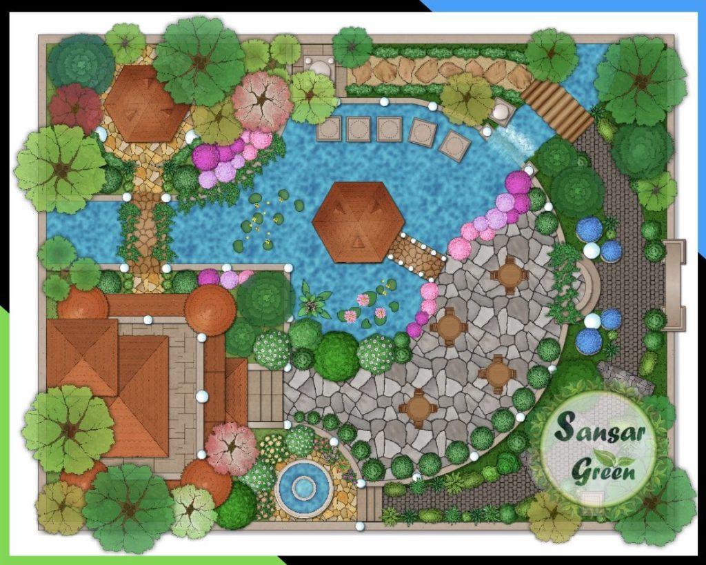 Landscape Consultancy - designing - planning in india - sansar green - concept